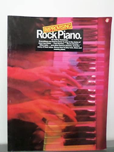9780825640711: Improvising Rock Piano
