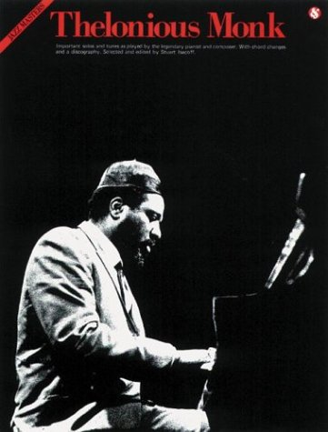 9780825640803: Thelonious Monk (Jazz Masters, Vol. 80)