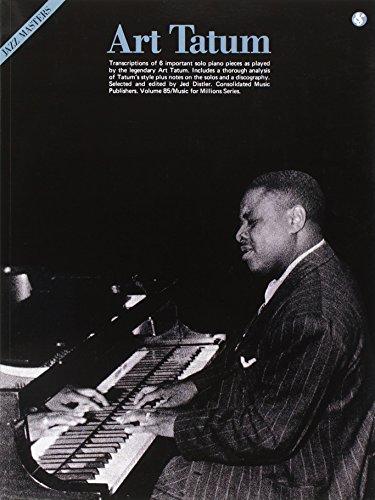 9780825640858: Art Tatum Jazz Masters: Jazz Masters Series