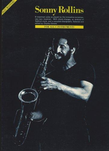9780825640865: Sonny Rollins (Jazz Masters)