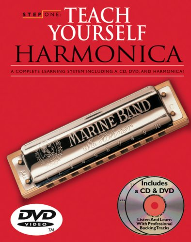 9780825643347: Step One: Teach Yourself Harmonica Course