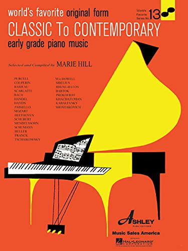 9780825650093: Classical to Contemporary Earyly Grade Piano Music: Original Form