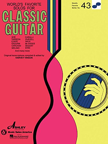 9780825650352: Solos for Classical Guitar: World's Favorite Series #43