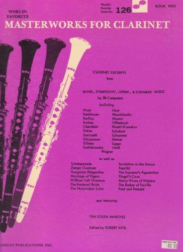 9780825651113: Masterworks For Clarinet: Book 2: (WFS 126)