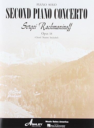 Piano Solo Arrangement Rachmaninov Second Piano Concerto