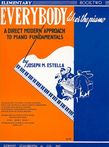 9780825654961: Everybody Likes the Piano, Book II: A Piano Course, Elementary Section