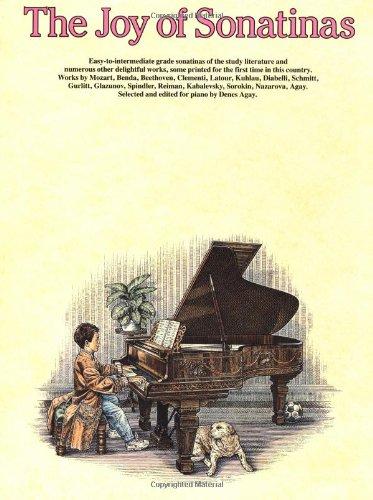 9780825680120: The Joy of Sonatinas: Piano Solo (Joy Of...Series)