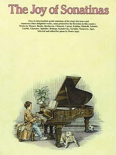 9780825680120: The Joy of Sonatinas: Piano Solo (Joy Of.Series)