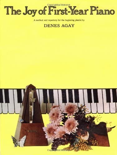 9780825680137: The Joy of First Year of Piano