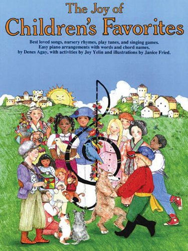 9780825680748: The Joy of Children's Favorites: Piano Solo (Joy Of...Series)