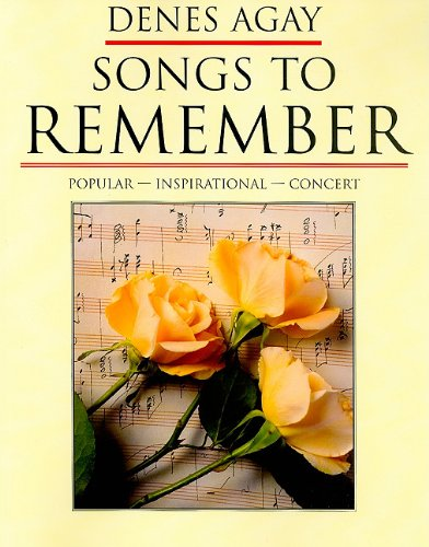 9780825681097: Denes Agay: Songs to Remember