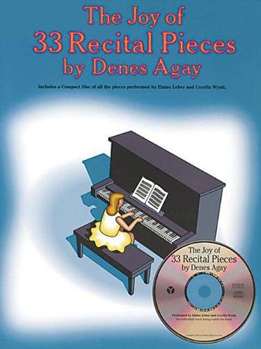 9780825681103: Joy Of 33 Piano Recital Pieces Book And Cd
