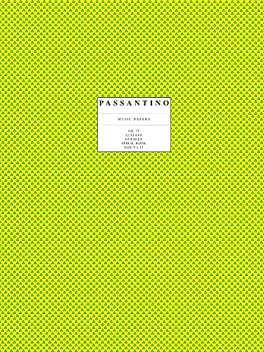 9780825690754: Passantino Music Papers: No. 75, 12 Stave, Size 9x12