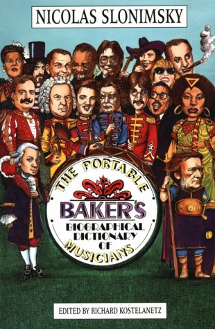 9780825693946: The Portable Baker's Biographical Dictionary of Musicians