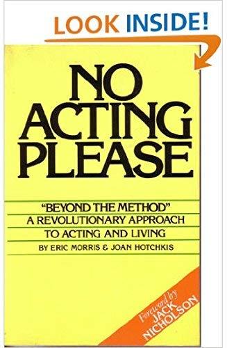 9780825699207: No Acting Please