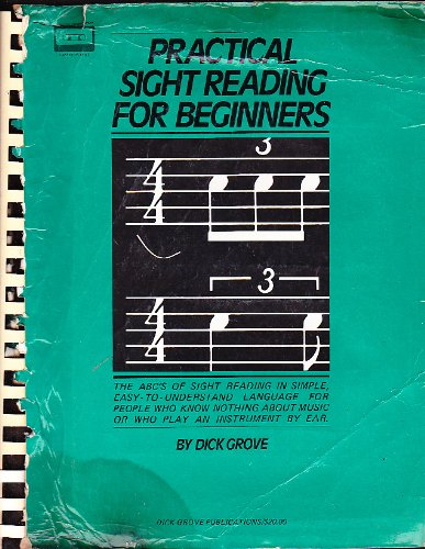 Practical sightreading for beginners (0825699258) by Grove, Dick