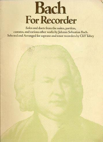 9780825699801: Bach for Recorder