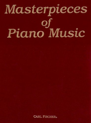 9780825800061: Masterpieces of Piano Music