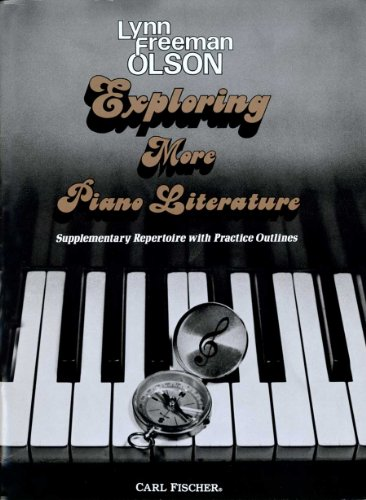 9780825800573: Exploring More Piano Literature