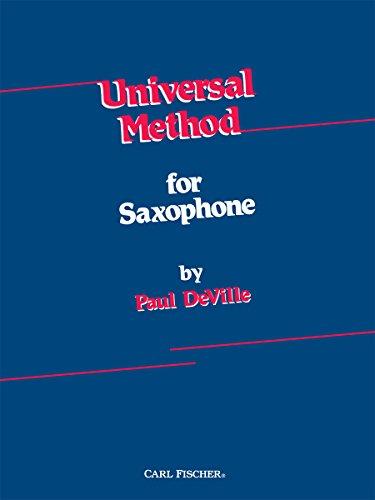 9780825801464: Universal Method for Saxophone