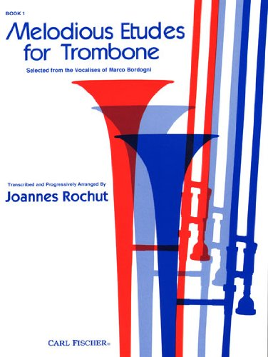 9780825801495: Melodious Etudes for Trombone Book 1