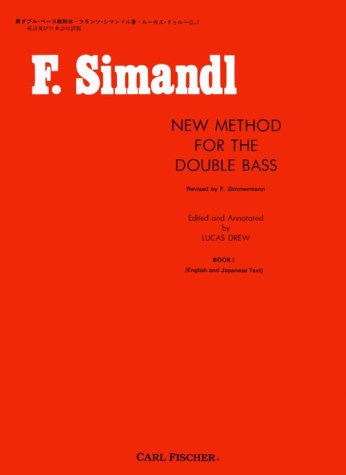 9780825801525: New Method for the Double Bass/Book 1