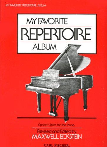 My Favorite Repertoire Album (0825801621) by Maxwell Eckstein
