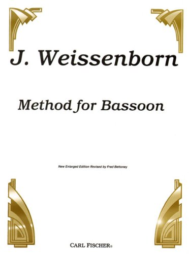 9780825801693: Weissenborn Method for Bassoon