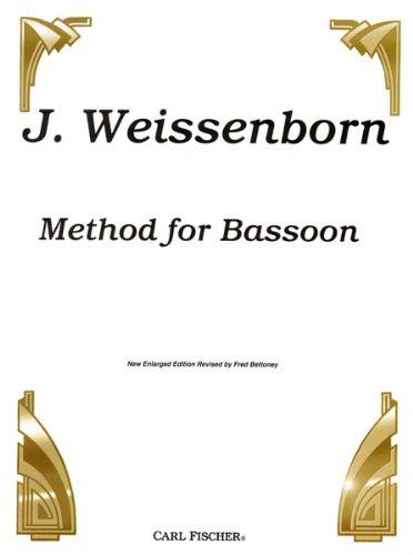 9780825801693: CU96 - Weissenborn Method for Bassoon New Enlarged Edition