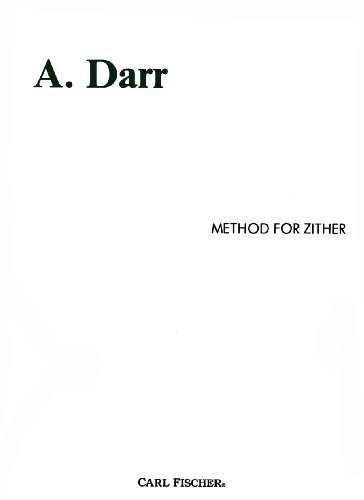 Method for Zither: A. Darr