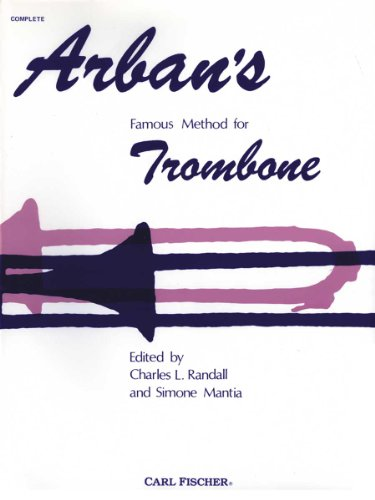 9780825802546: Arban Method for Trombone Complete Bass
