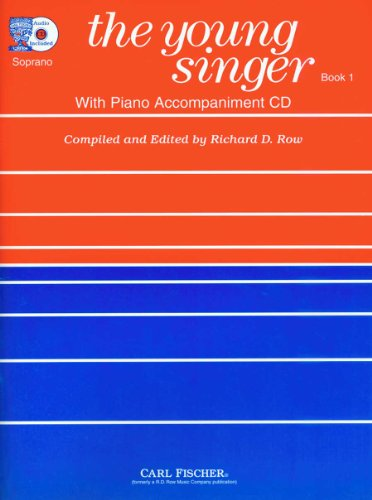 9780825802591: RB81 - The Young Singer-Soprano (Book & CD)