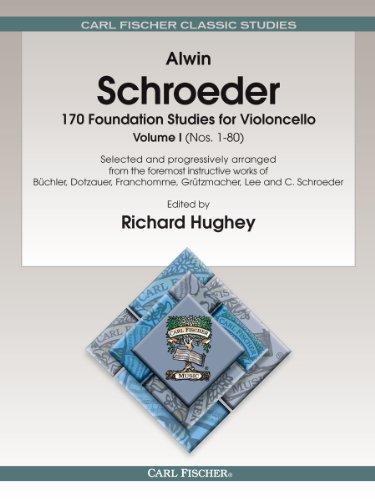 9780825802621: 170 Foundation Studies for Violoncello, Vol. 1