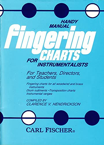 Handy Manual Fingering Chart: Hendrickson, Clarence V.