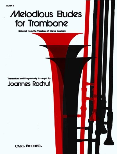 9780825803086: Melodious Etudes for Trombone Book 2