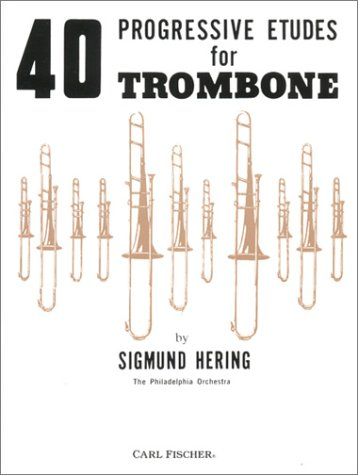 9780825803147: 40 Progressive Etudes for Trombone