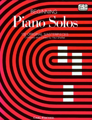 9780825803437: Beginning Piano Solos: 132 Original Masterpieces (All Time Favotites 101)
