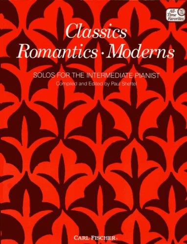 9780825803444: ATF102 - Classics Romantics Moderns Solos for the Intermediate Pianist
