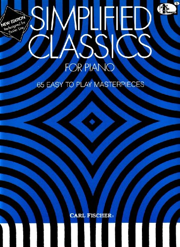 9780825803475: ATF105 - Simplified Classics for Piano (All-Time Favorites Series)