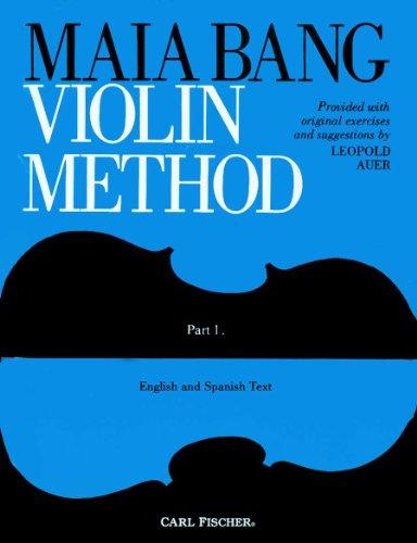 9780825803710: Maia Bang Violin Method: Book 1