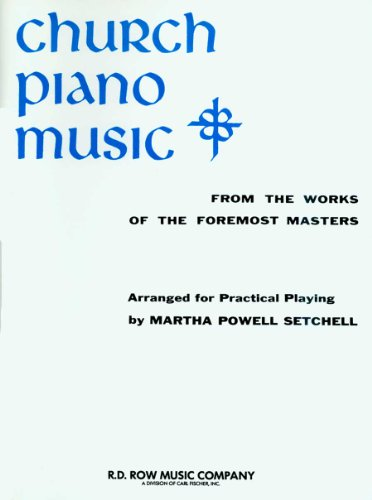 9780825803802: RB30 - hurch Piano Music