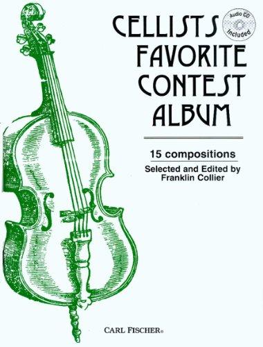 9780825803833: O3220 - Cellists Favorite Contest Album