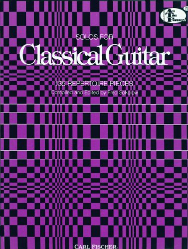 Solos For Classic Guitar: Fred Sokolow