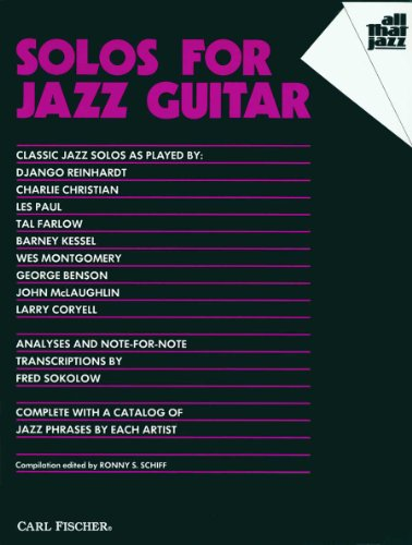 9780825803994: ATJ306 - Solos for Jazz Guitar (All That Jazz Series)