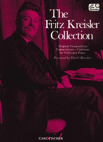 9780825804076: The Fritz Kreisler Collection, Vol. 1