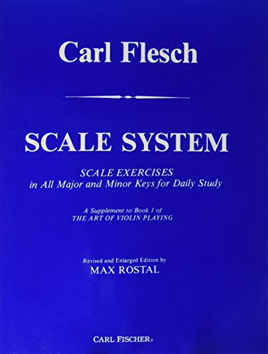 9780825804137: Title: Carl Flesch Scale System Scale Exercises in All Ma