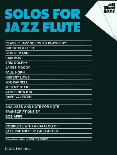 9780825804144: ATJ307 - Solos for Jazz Flute (All That Jazz Series)