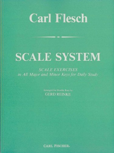 9780825804168: Scale System for Double Bass