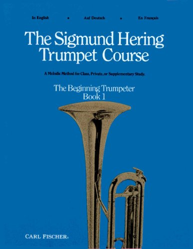 9780825804328: The Sigmund Hering Trumpet Course, Book 1