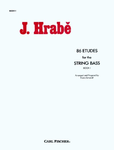 9780825804946: O2947 - 86 Etudes for String Bass, Book 1